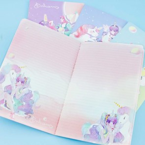 Heroine & Unicorn Notebook