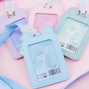Bear Ears & Unicorn Card Case