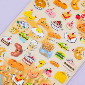 Nekoni Pastry Stickers