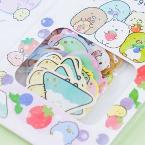 Sumikko Gurashi Fruit Carton Stickers