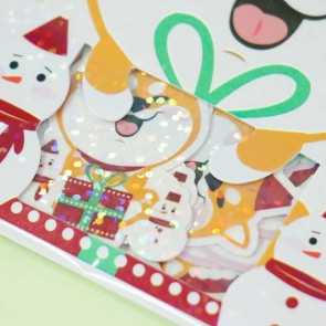 Nekoni Santa Claus Animal Stickers