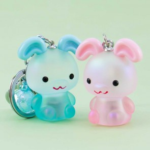 Light Up Bunny Keychain