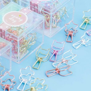 Kawaii Shapes Paper Clip Set