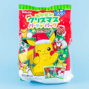 Tohato Pokemon Christmas Snack Pack - 5 pcs