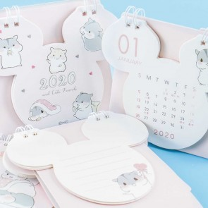 Pudgy Hamsters 2020 Desk Calendar