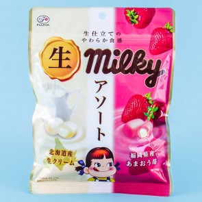 Milky Peko-Chan Candy - Milk & Amaou Strawberry