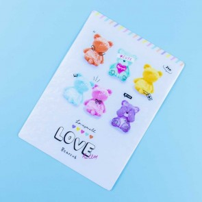 Love Hello Bears Pencil Pad