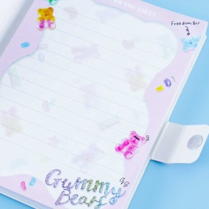 Gummy Bears Notebook