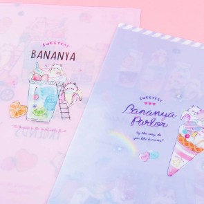 Bananya Fruity Friends Dessert Folder