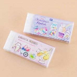 Bananya Fruity Friends Dessert Eraser