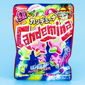 Kanro Candemina Star Puzzle Gummies - Fruit Mix