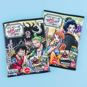 Bandai One Piece Shikishi Art & Gum Set