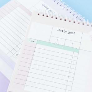 Happy Hamsters 100 Days Desk Planner