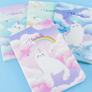 Unikitty Pastel Rainbow Notebook