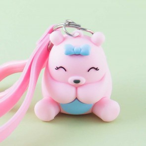 Happy Bear Bag Charm