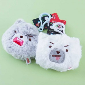 Bear Face Bag Charm Plushie