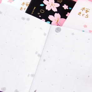 Sakura Leather Diary Planner