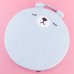 Round Sleeping Bear Cushion