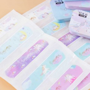 Dreamy Unicorn Bandages In A Tin