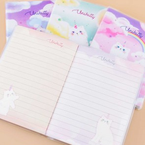 Rainbow Unikitty Notebook