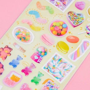 Nekoni Colorful Candy Stickers