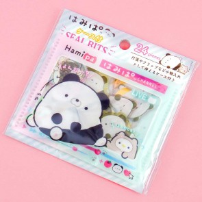 Hamipa Panda Seal Stickers