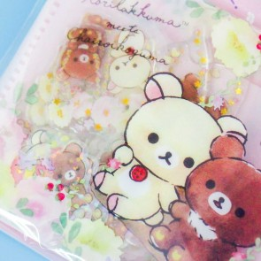 Rilakkuma & Chairoikoguma Seal Stickers