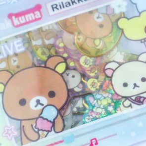 Rilakkuma Seal Stickers