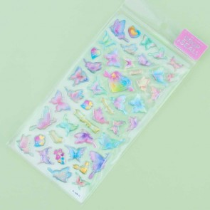 Hearts & Butterflies Drop Seal Stickers