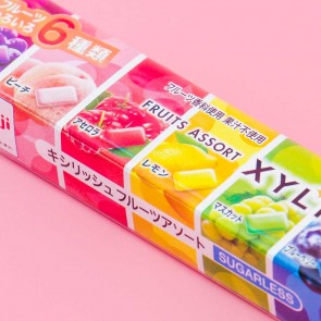 Meiji Xylish Assorted Fruit Gum