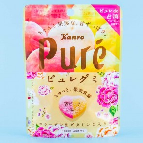 Kanro Pure Double Peach Gummies