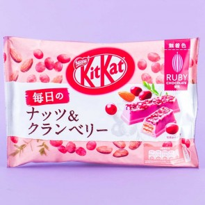 Kit Kat Nuts & Cranberry Ruby Chocolates