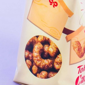 Tohato Lucky Caramel Corn Snacks - Chocolate