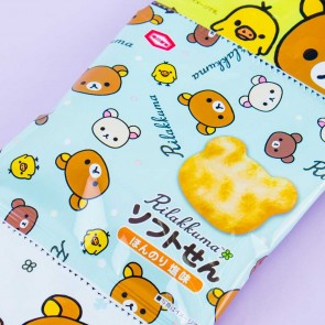 Kameda Rilakkuma Rice Cracker Set