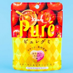 Kanro Pure Honey Apple Gummies