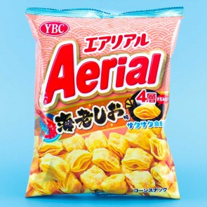Aerial Corn Snacks - Salty Shrimp