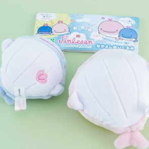 Jinbesan Magnetic Plushie Bag Charm Set - Medium