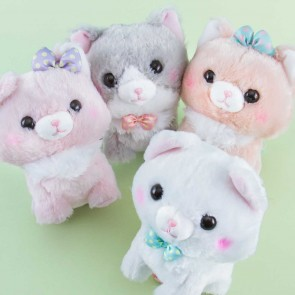 Fuwaneko Mew-chan Walk Time Plushie - Medium