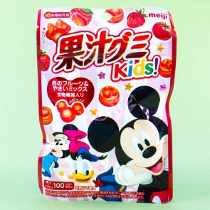Meiji Disney Kajyu Fruit Gummies - Red Fruit & Veggies