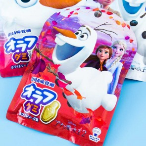 UHA Frozen Olaf Gummy - White Soda