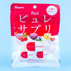 Kanro Puré Supple Inner Gummy Candies