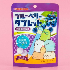 Hayakawa Sumikko Gurashi Tablets - Blueberry