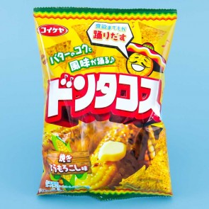 Koikeya Don Tacos Tortilla Chips - Roasted Corn