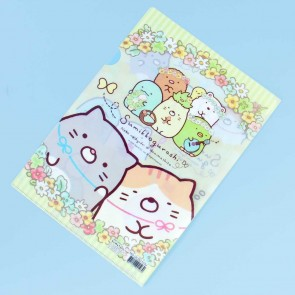 Sumikko Gurashi Bubbles & Flowers A4 File Folder