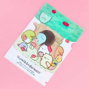 Sumikko Gurashi Forest Friends A4 File Folder