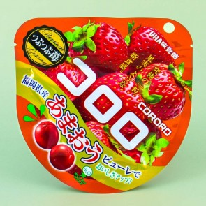 Kororo Fruit Juice Gummy - Strawberry