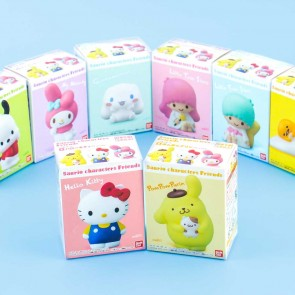 Sanrio Characters Friends Figurine & Gum Set