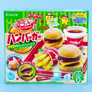 Kracie Happy Kitchen Burger Meal DIY Candy Kit