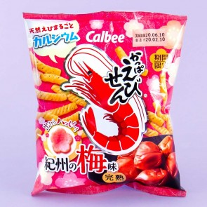 Calbee Shrimp Snacks - Kishu Plum