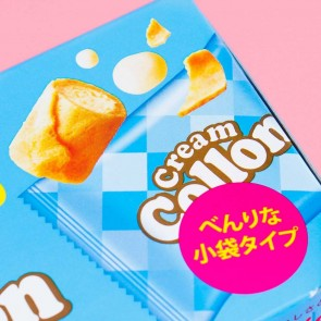 Glico Collon Biscuit Roll - Milk